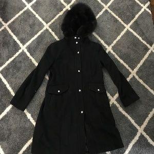 Black Micheal Kors Winter Jacket